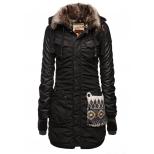 Khujo Chantal Mix With Gloves Jacket