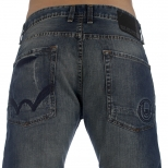 Duck and Cover Silver Jeans