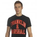 Franklin And Marshall Basic Logo T Shirt