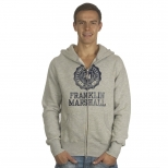 Franklin And Marshall Zip Thru Mcmic Hoody