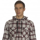 Duck And Cover Tau Hooded Shirt