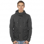 Duck And Cover Filten Hooded Sweat
