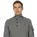 Duck And Cover Wylie Funnel Neck Knit