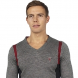Saint Jude V Neck Jumper