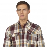 Duck And Cover Cranium Checked Shirt