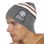 Franklin And Marshall Basic Logo Stripe Beanie