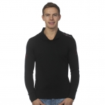 Egan Folks Shawl Neck Sweater