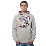 Franklin And Marshall Old School Explosion Hoody