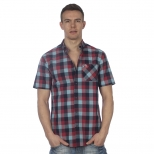 Original Penguin Short Sleeve Checked Shirt
