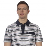 Original Penguin Multi Stripe Polo Shirt