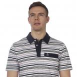 Original Penguin Multi Stripe Polo Shirt