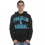 Franklin And Marshall Basic Cracked Logo Hoody