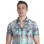Scotch And Soda Fancy Short Sleeve Shirt