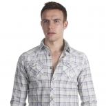 Scotch And Soda Printed Flannel Shirt