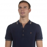 Farah Vintage Textured Polo