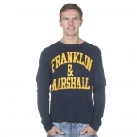 Franklin And Marshall Basic Logo Long Sleeve