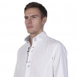 Claudio Lugli Collar Trim Shirt