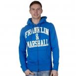Franklin And Marshall Basic Zip Thru Hoody