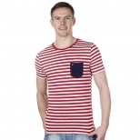 Gabicci Broadstairs Stripe T Shirt