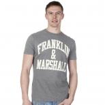 Franklin And Marshall Logo T Shirt