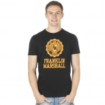 Franklin And Marshall New Mcmic Print T Shirt