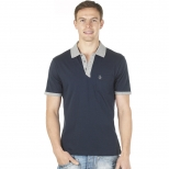 Original Penguin Angled Placket Polo Shirt