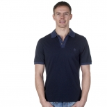 Original Penguin Space Dye Rib Daddy Polo Shirt