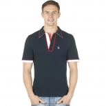 Original Penguin Tri Colour Earl Polo Shirt