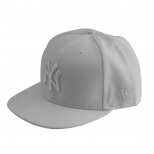 New Era White On White New York Yankees Baseball Cap