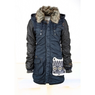 Khujo Chantal Mix With Gloves Jacket