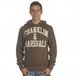 Franklin And Marshall Basic Logo Cracked Hoody