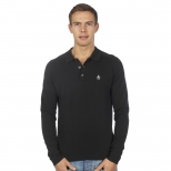 Original Penguin Long Sleeve Knitted Polo