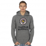 Franklin And Marshall Knitted Logo Hoody
