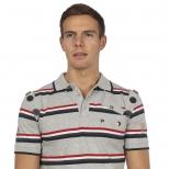 Egan Cash Stripe Polo