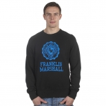 Franklin And Marshall Basic Logo Cracked Mcmic Sweater