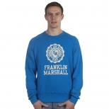 Franklin And Marshall Basic Logo Cracked Sweater