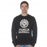 Franklin And Marshall New Basic Logo Cracked Mcmic Sweater