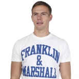 Franklin And Marshall New Logo T Shirt