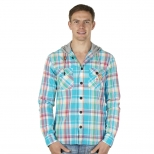 Franklin and Marshall Mickey New Hooded Shirt
