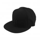 New Era Black On Black New York Yankees Baseball Cap