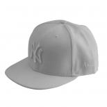 New Era White On White New York Yankees Baseball Cap