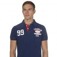 Franklin And Marshall Plain Rugby Polo Shirt